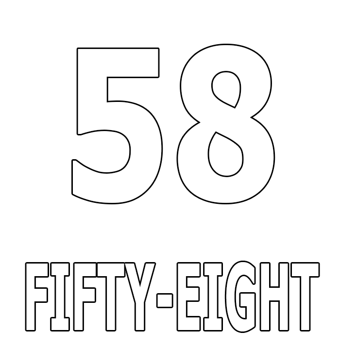 Number Fifty-Eight