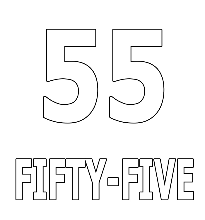 Number Fifty-Five