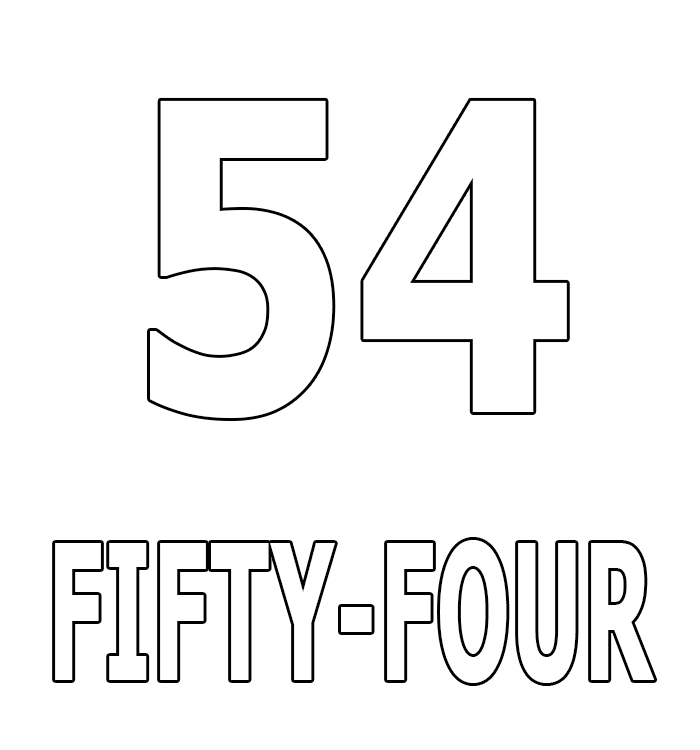 Number Fifty-Four
