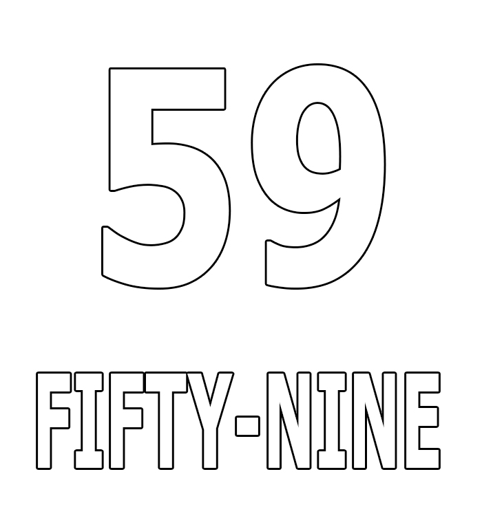 Number Fifty-Nine