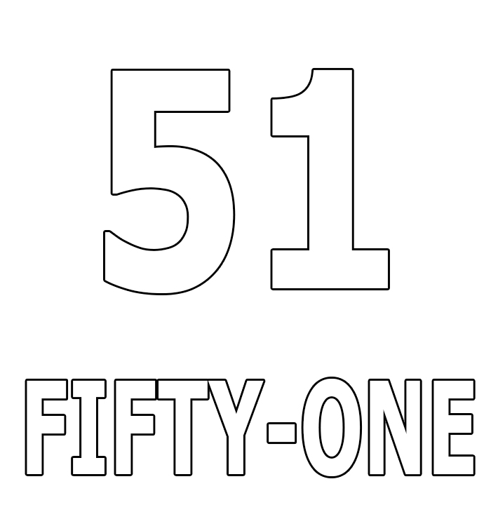 Number Fifty-One