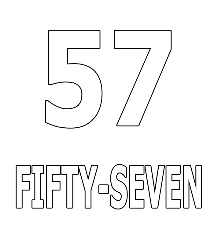 Number Fifty-Seven