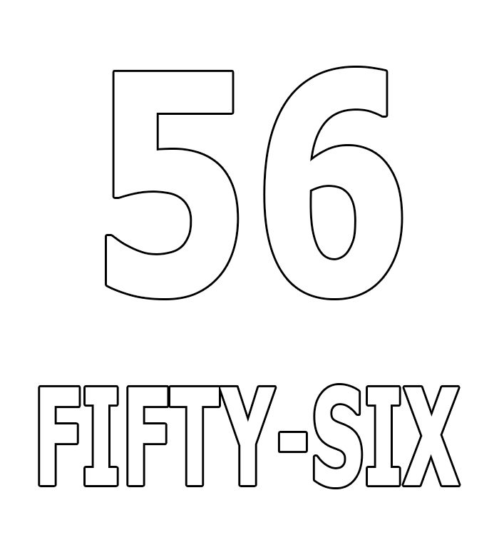 Number Fifty-Six