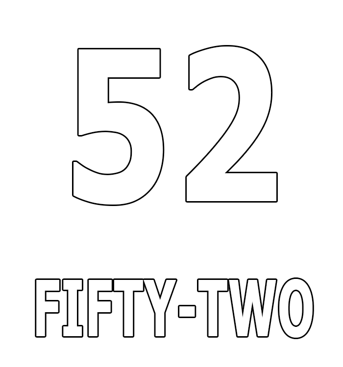 Number Fifty-Two