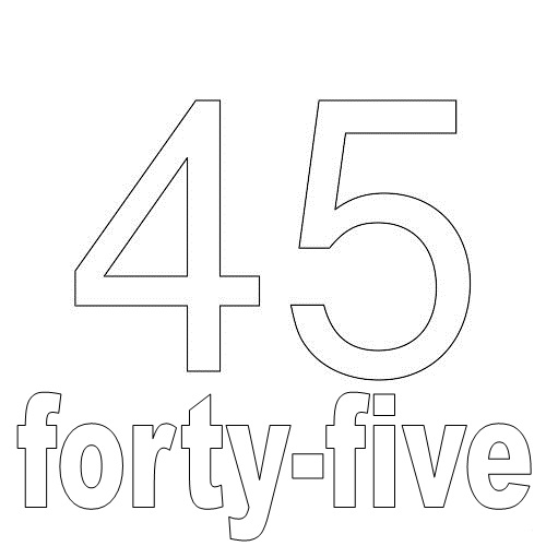 Number Forty-Five