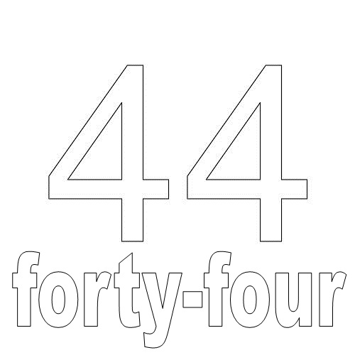 Number Forty-Four