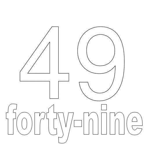 Number Forty-Nine