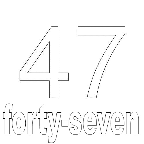 Number Forty-Seven