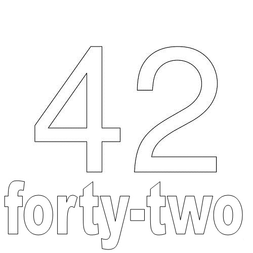Number Forty-Two