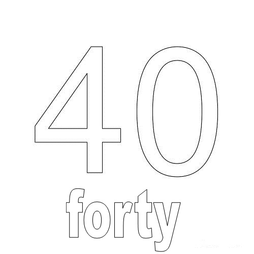 Number Forty