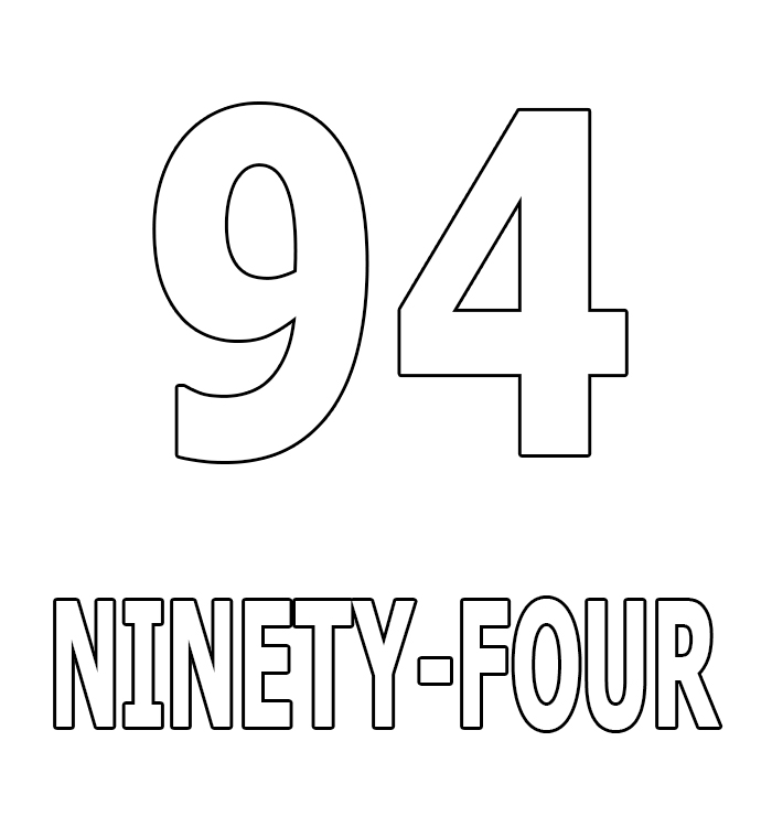 Number Ninety-Four