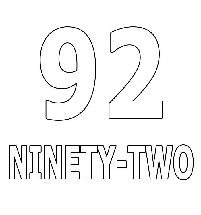 Number Ninety-Two