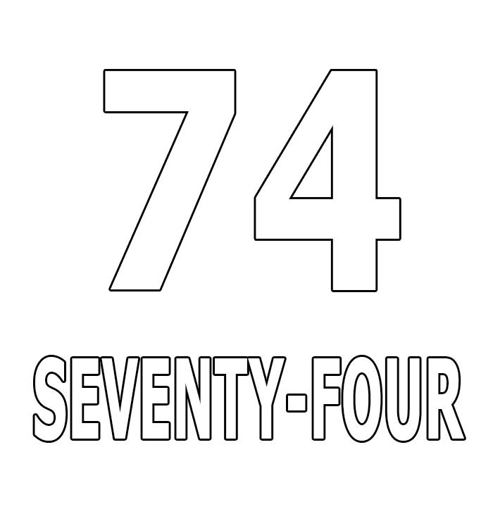 Number Seventy-Four