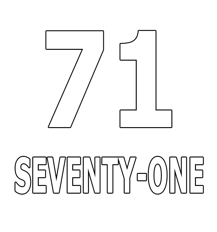 Number Seventy-One
