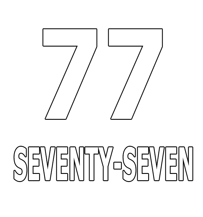 Number Seventy-Seven