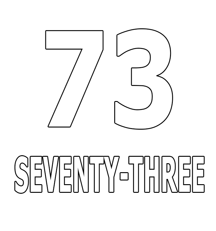 Number Seventy-Three