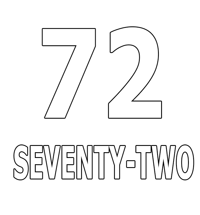 Number Seventy-Two