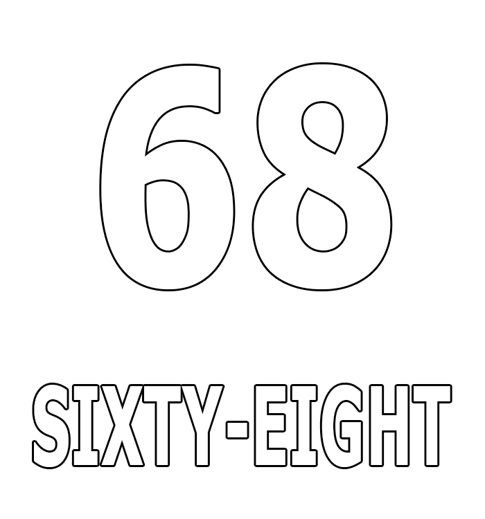 Number Sixty-Eight