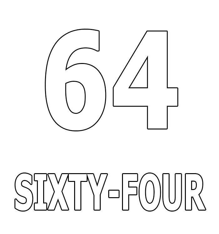 Number Sixty-Four