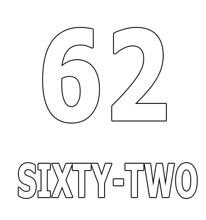 Number Sixty-Two