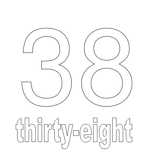 Number Thirty-Eight