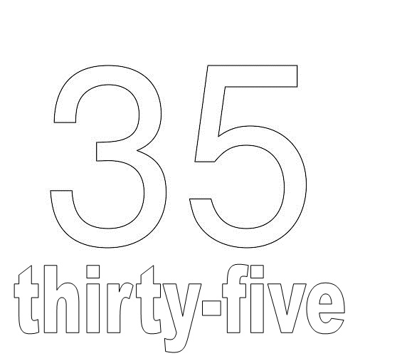 Number Thirty-Five