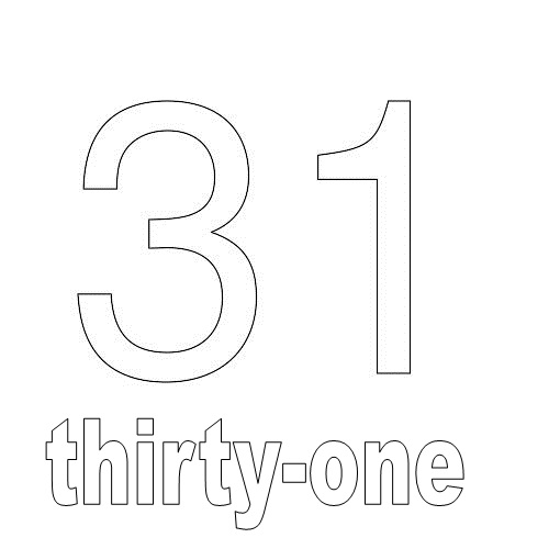 Number Thirty-One