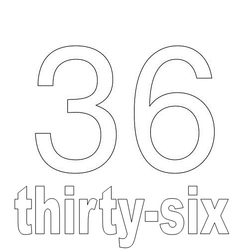 Number Thirty-Six