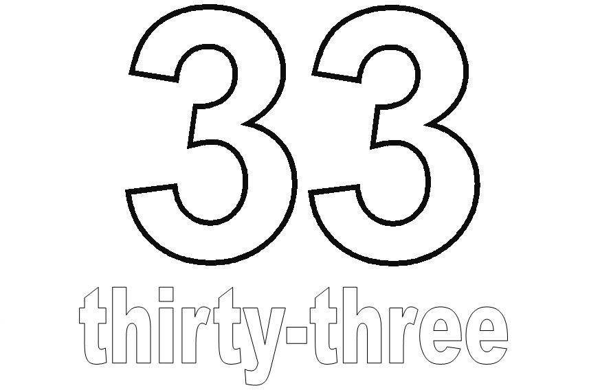 Number Thirty-Three