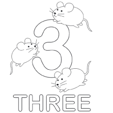 Number Three With Mice