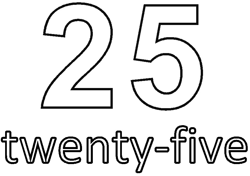 Number Twenty-Five