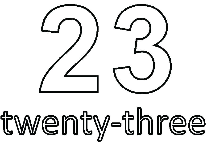 Number Twenty-Three