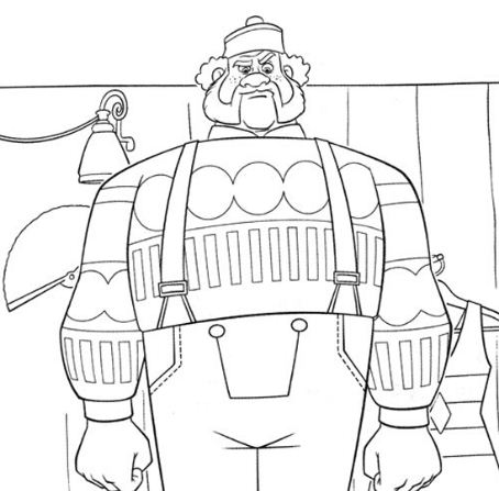 Oaken, A Large Man