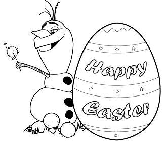 Olaf Spring Easter