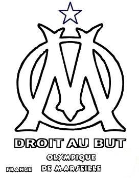 Olympique de Marseille Coloring Page
