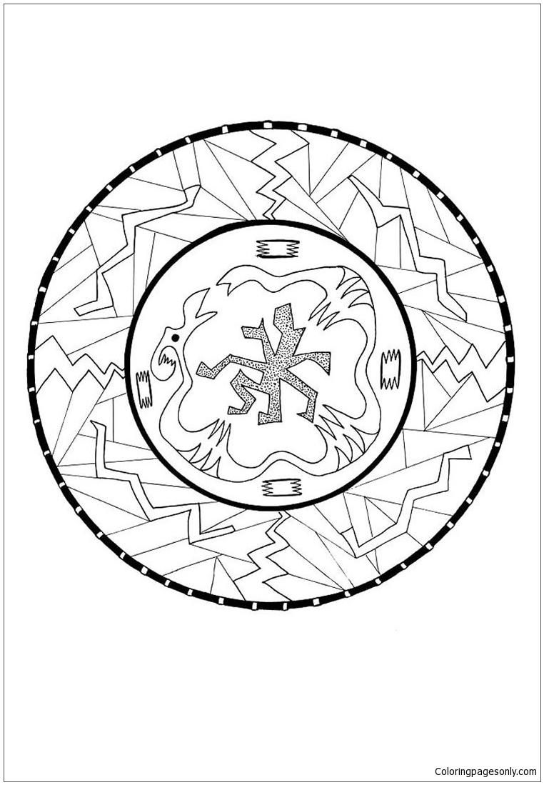 Onuit Mandala Coloring Page