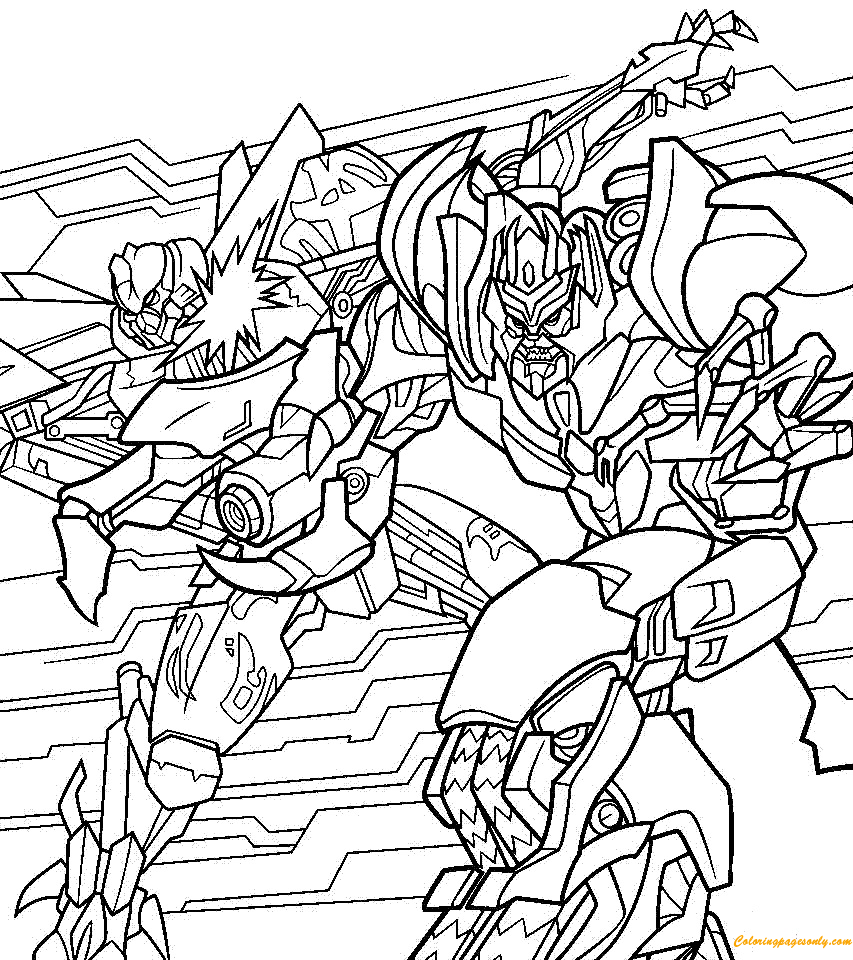 Coloring Page, Transformers, Free, Boys Coloring, Coloring ... | 960x853
