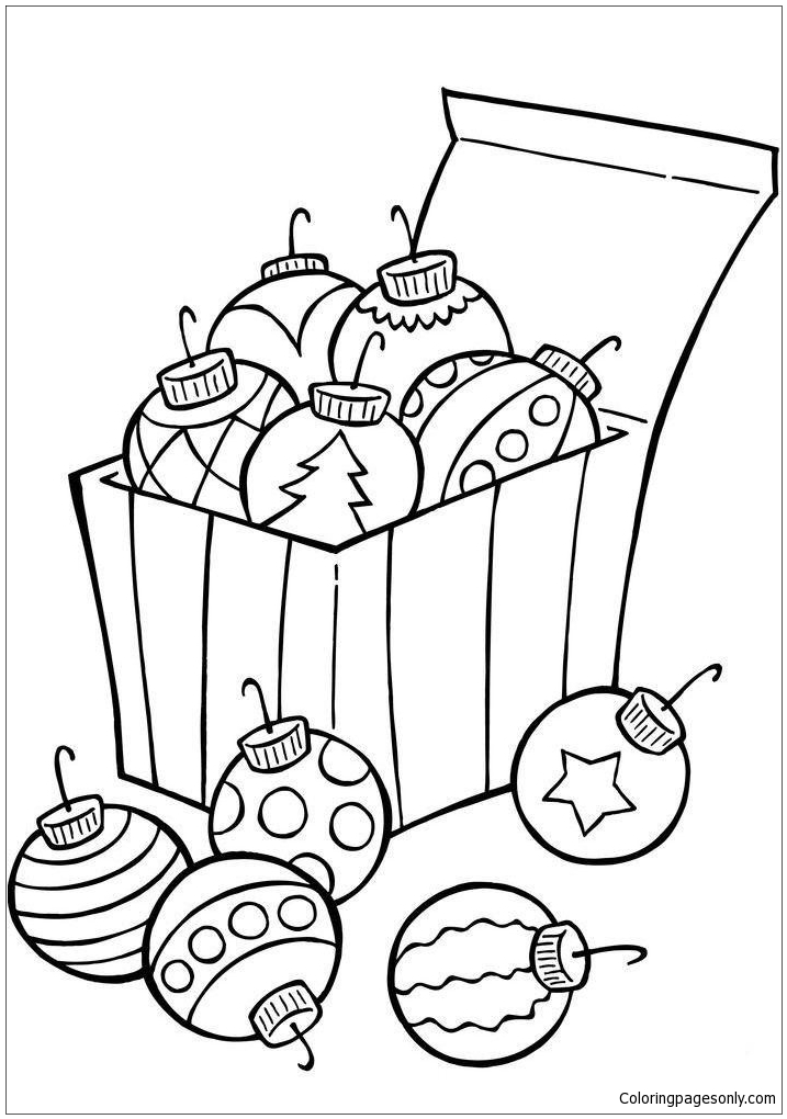 ornament printable coloring pages - photo#45