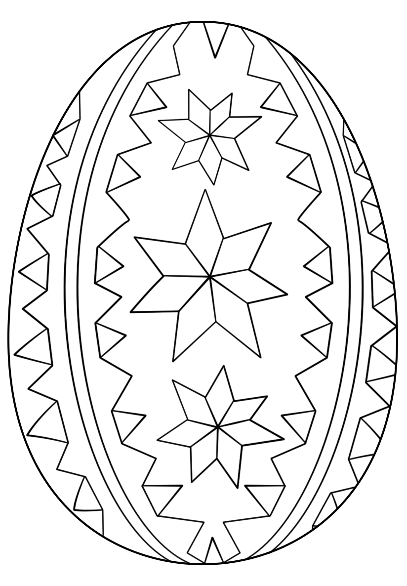 Ornate Easter Egg Ornaments