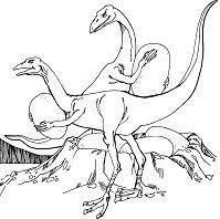 Oviraptors Stealing Dinosaurs Eggs
