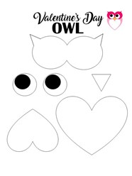 Owl For Valentine