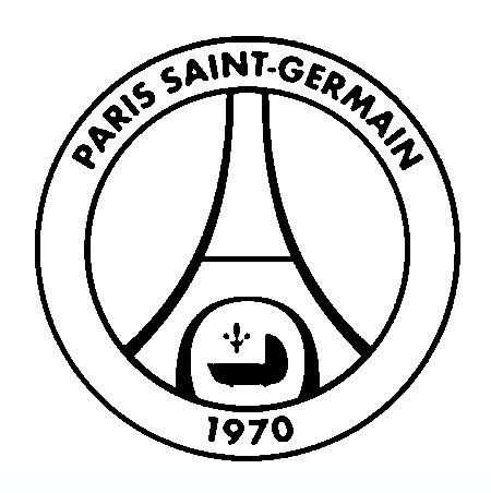 Paris Saint-Germain F.C Coloring Page