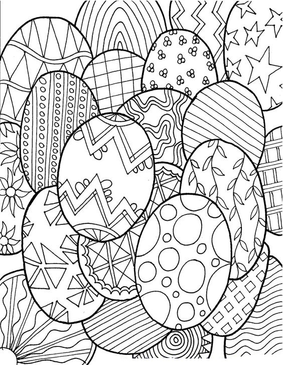 Patterns of Easter Eggs