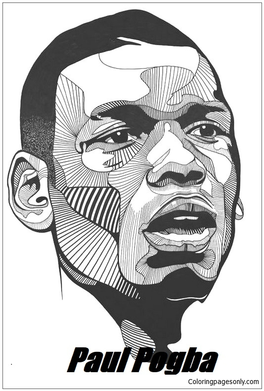 Paul Pogba Image 11 Coloring Page Free Coloring Pages Online