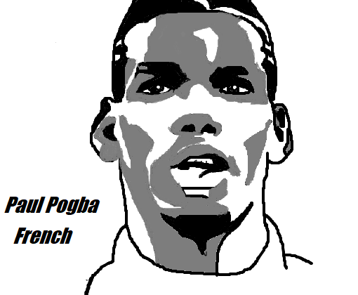 Paul Pogba-image 12 Coloring Page