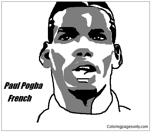 Paul Pogba Image 12 Coloring Page Free Coloring Pages Online