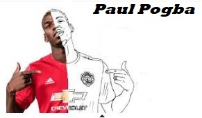 Paul Pogba-image 4 Coloring Page