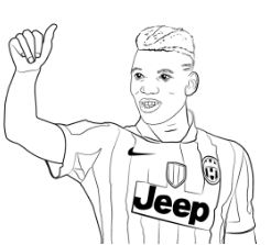 Paul Pogba-image 5 Coloring Page