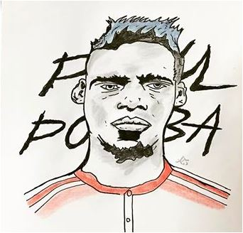 Paul Pogba-image 8 Coloring Page