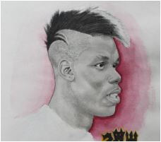 Paul Pogba-image 9 Coloring Page